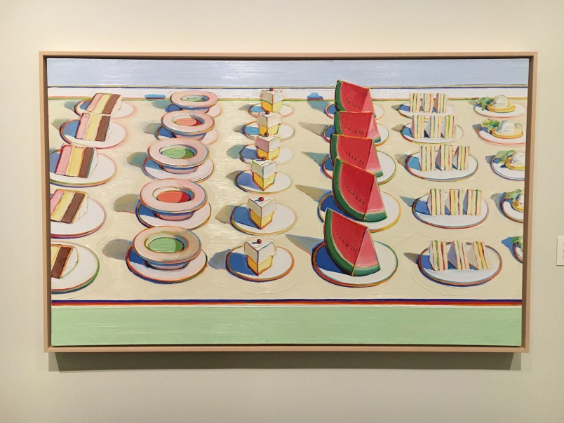 Thiebaud's Lunch Table