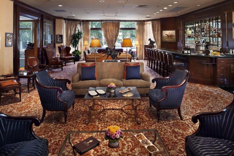 Windsor Court Polo Club Lounge
